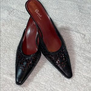 Preview international leather diecut mule size 9